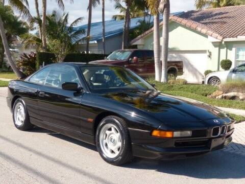 1995 BMW 8 Series for sale at Lifetime Automotive Group in Pompano Beach FL