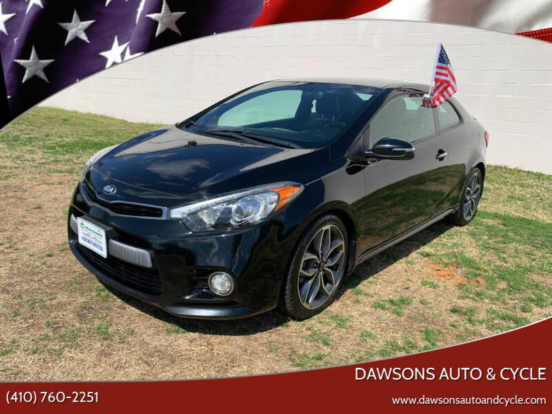 2015 Kia Forte Koup for sale at Dawsons Auto & Cycle in Glen Burnie MD