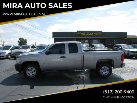 2007 Chevrolet Silverado 1500 for sale at MIRA AUTO SALES in Cincinnati OH