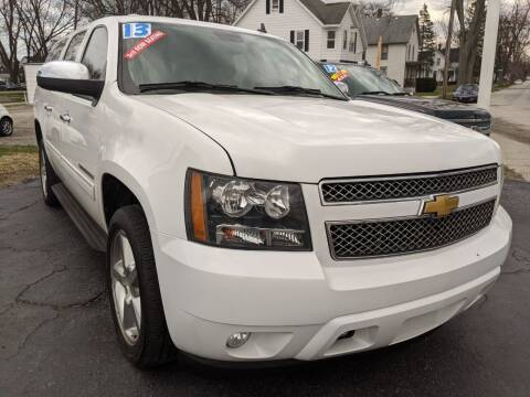 2013 Chevrolet Suburban for sale at GREAT DEALS ON WHEELS in Michigan City IN