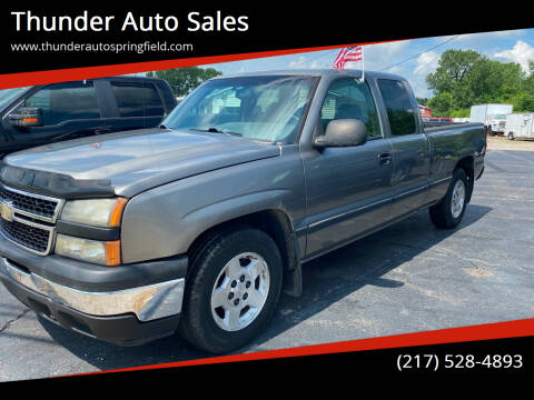 2006 Chevrolet Silverado 1500 for sale at Thunder Auto Sales in Springfield IL