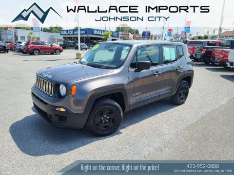 2017 Jeep Renegade for sale at WALLACE IMPORTS OF JOHNSON CITY in Johnson City TN