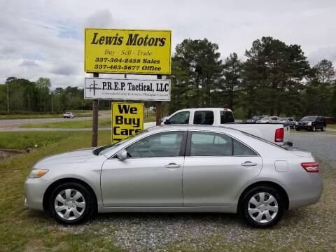 2011 Toyota Camry for sale at Lewis Motors LLC in Deridder LA