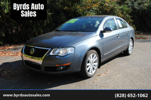 2010 Volkswagen Passat for sale at Byrds Auto Sales in Marion NC