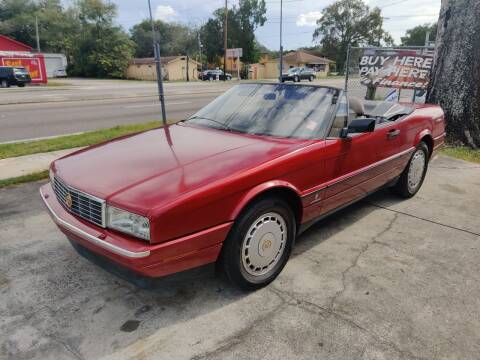1990 Cadillac Allante for sale at Advance Import in Tampa FL