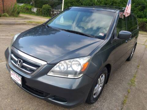 2006 Honda Odyssey for sale at Hilton Motors Inc. in Newport News VA