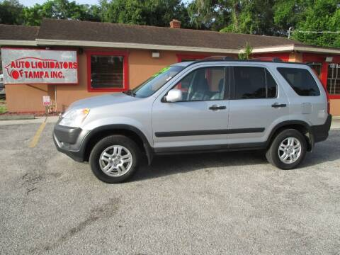2004 Honda CR-V for sale at Auto Liquidators of Tampa in Tampa FL