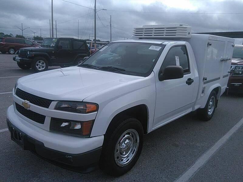 2011 Chevrolet Colorado for sale at ALL AMERICAN AUTO MART in Edwardsville KS
