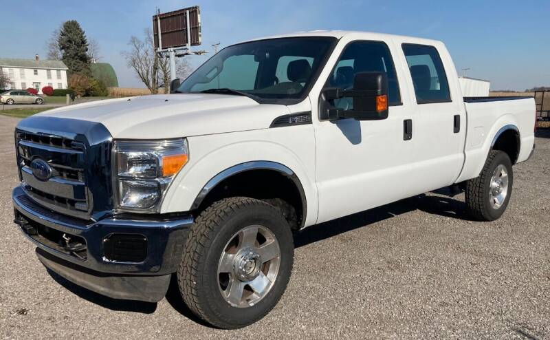 2013 Ford F-350 Super Duty for sale at Ada Truck Sales in Ada OH