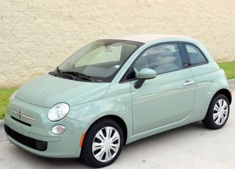 2012 FIAT 500c for sale at Raleigh Auto Inc. in Raleigh NC