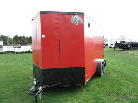 2021 Rhino Enclosed Cargo SAFARI 7X14TA2 for sale at Rondo Truck & Trailer in Sycamore IL
