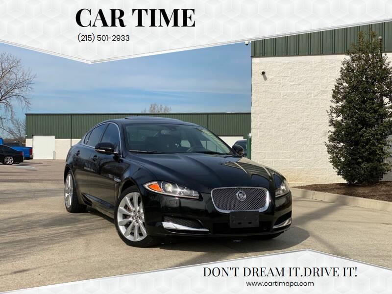 2013 Jaguar XF for sale at Car Time in Philadelphia PA