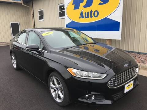 2016 Ford Fusion for sale at TJ's Auto in Wisconsin Rapids WI