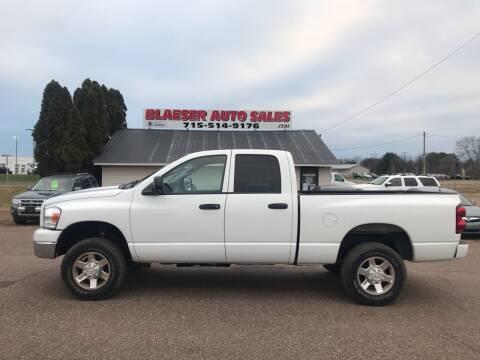 2009 Dodge Ram Pickup 2500 for sale at BLAESER AUTO LLC in Chippewa Falls WI