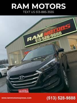2017 Hyundai Tucson for sale at RAM MOTORS in Cincinnati OH