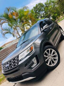 2016 Ford Explorer for sale at IRON CARS in Hollywood FL