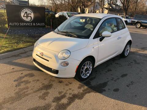 2012 FIAT 500 for sale at Station 45 Auto Sales Inc in Allendale MI