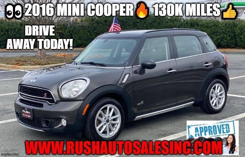 2016 MINI Countryman for sale at RUSH AUTO SALES in Burlington NC