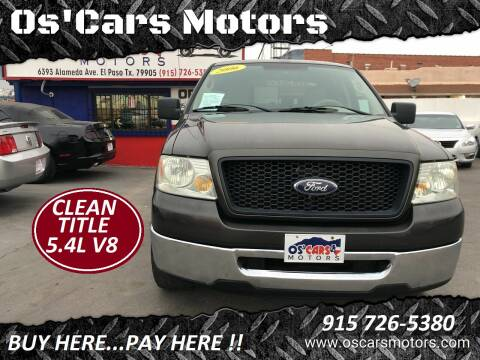 2006 Ford F-150 for sale at Os'Cars Motors in El Paso TX
