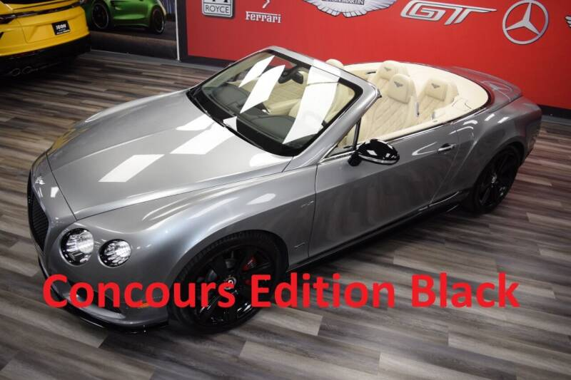 2015 Bentley Continental for sale at Icon Exotics in Houston TX