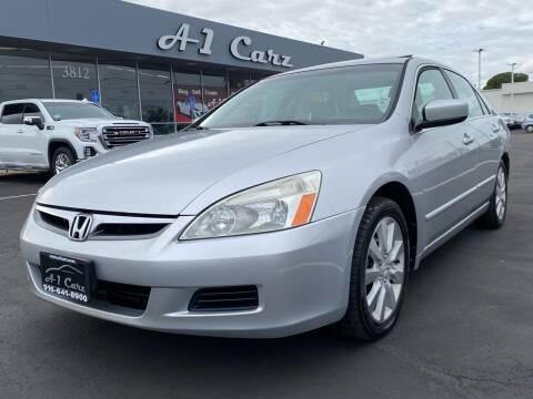 2006 Honda Accord for sale at A1 Carz, Inc in Sacramento CA