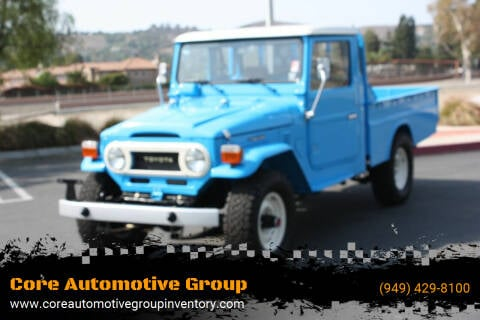 1976 Toyota Land Cruiser for sale at Core Automotive Group in San Juan Capistrano CA