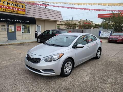 2016 Kia Forte for sale at 2nd Chance Auto Sales in Montgomery AL