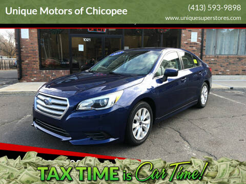 2015 Subaru Legacy for sale at Unique Motors of Chicopee in Chicopee MA