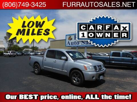 2005 Nissan Titan for sale at FURR AUTO SALES in Lubbock TX
