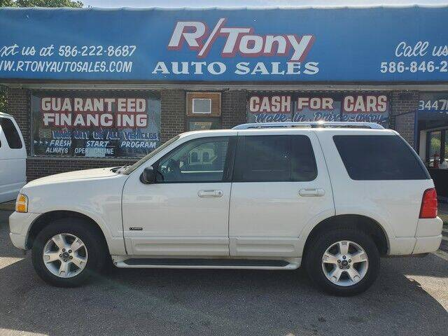 2003 Ford Explorer for sale at R Tony Auto Sales in Clinton Township MI