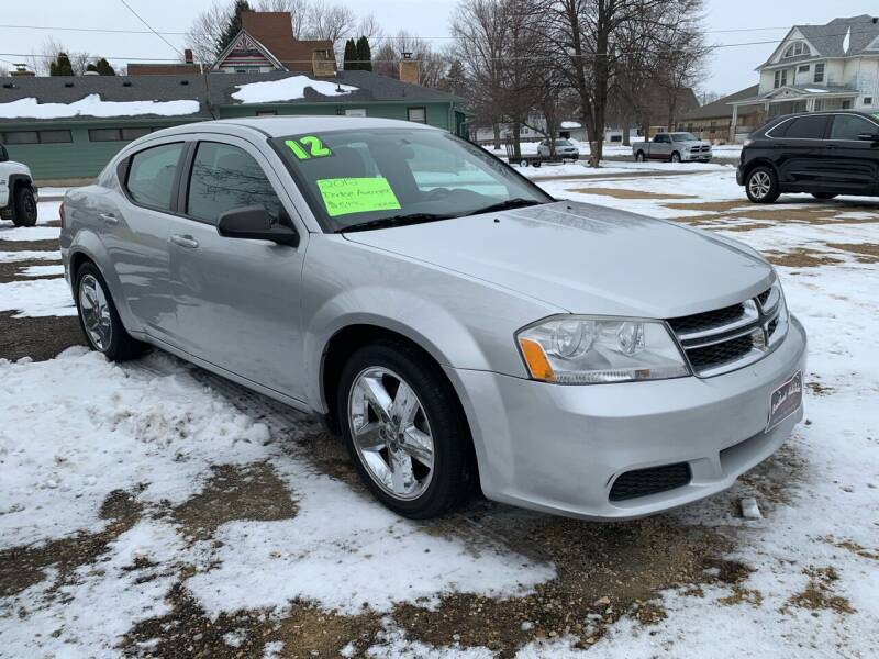 2012 Dodge Avenger for sale at BROTHERS AUTO SALES in Hampton IA
