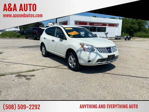 2010 Nissan Rogue for sale at A&A AUTO in Fairhaven MA