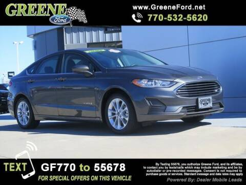 2019 Ford Fusion Hybrid for sale at Nerd Motive, Inc. - NMI in Atlanta GA
