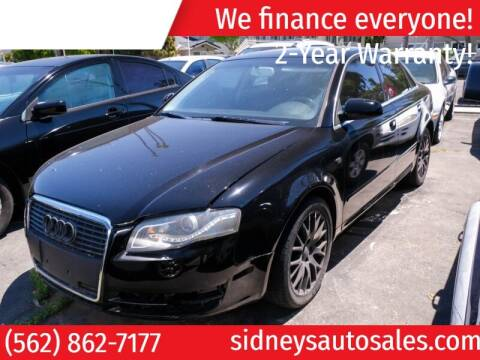 2008 Audi A4 for sale at Sidney Auto Sales in Downey CA