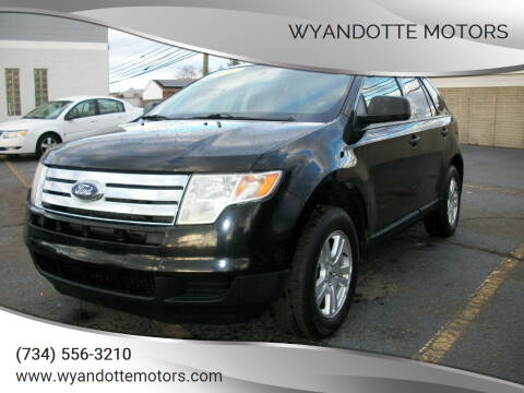 2008 Ford Edge for sale at Wyandotte Motors in Wyandotte MI