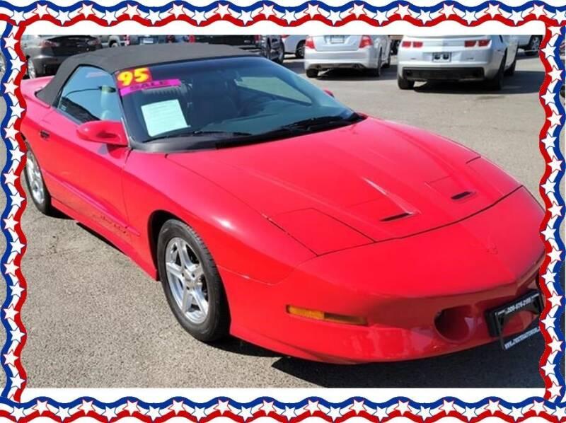 1995 Pontiac Firebird for sale at American Auto Depot in Modesto CA