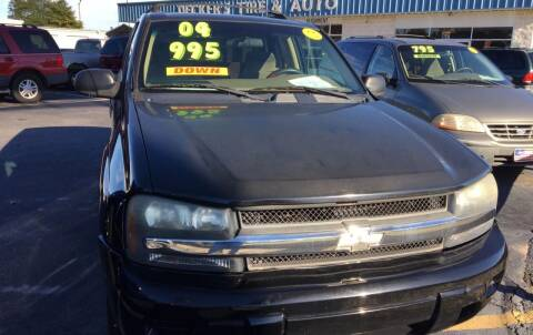 2004 Chevrolet TrailBlazer for sale at Deckers Auto Sales Inc in Fayetteville NC