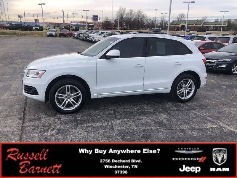 2017 Audi Q5 for sale at Russell Barnett Chrysler Dodge Jeep Ram in Winchester TN