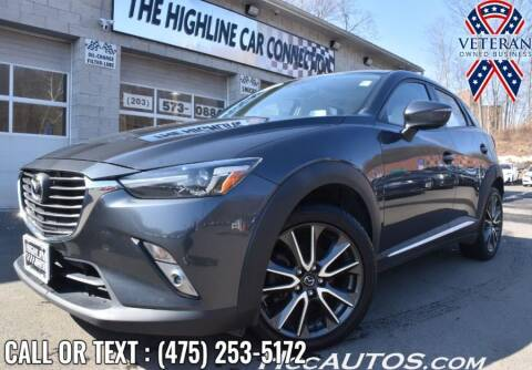 2017 Mazda CX-3 for sale at The Highline Car Connection in Waterbury CT
