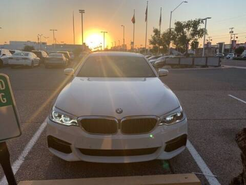 2017 BMW 5 Series for sale at Camelback Volkswagen Subaru in Phoenix AZ