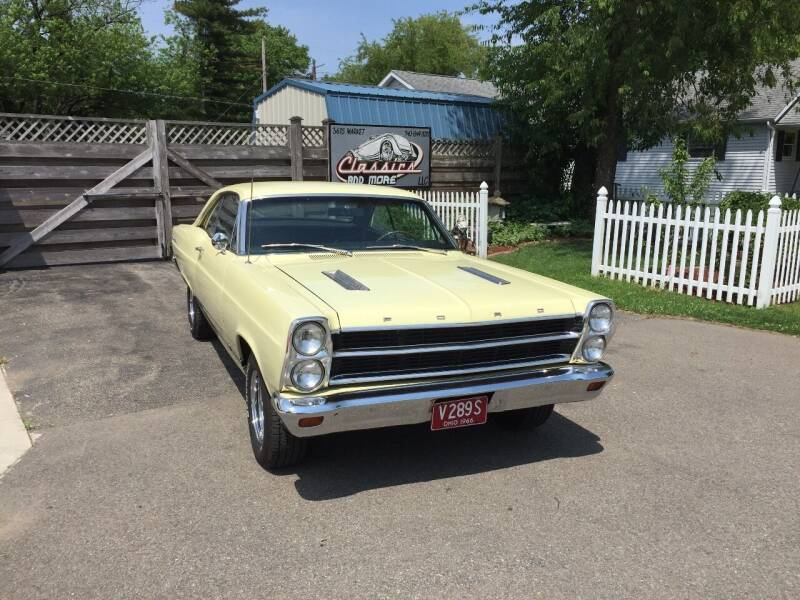 1966 Ford Fairlane 500 for sale at Classics and More LLC in Roseville OH