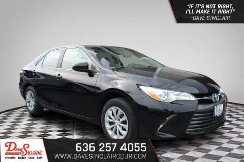 2017 Toyota Camry for sale at Dave Sinclair Chrysler Dodge Jeep Ram in Pacific MO