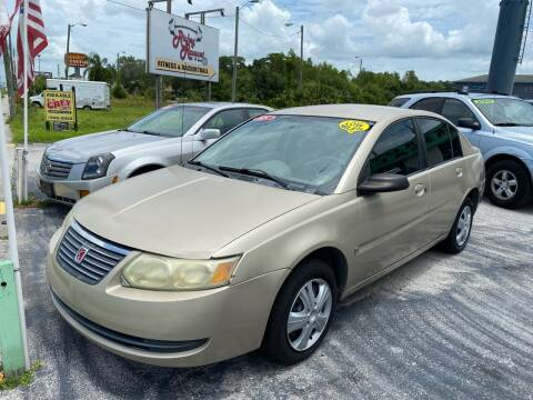 2005 Saturn Ion for sale at Jack's Auto Sales in Port Richey FL