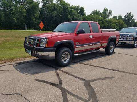 2003 Chevrolet Silverado 2500HD for sale at Pro Auto Sales and Service in Ortonville MN