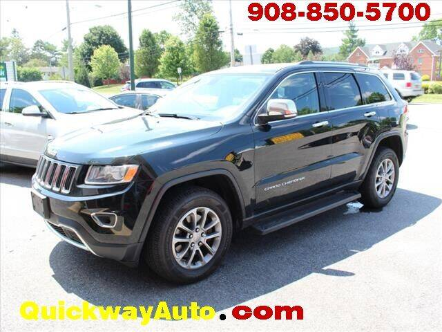 2015 Jeep Grand Cherokee for sale at Quickway Auto Sales in Hackettstown NJ