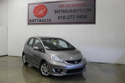 2009 Honda Fit for sale at Battaglia Auto Sales in Plymouth Meeting PA