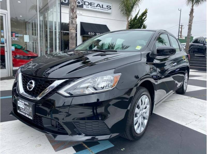2019 Nissan Sentra for sale at AutoDeals in Daly City CA