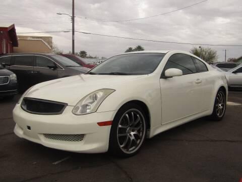 2006 Infiniti G35 for sale at Van Buren Motors in Phoenix AZ