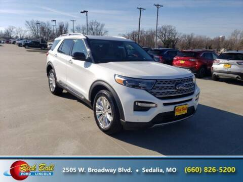 2021 Ford Explorer Hybrid for sale at RICK BALL FORD in Sedalia MO