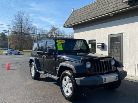2010 Jeep Wrangler Unlimited for sale at Vantage Auto Group in Tinton Falls NJ